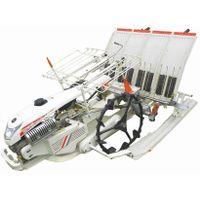 waling type 4 rows rice transplanter