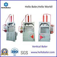 Hello Baler Vertical Baler for pet bottle and plastic