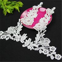 bridal embroidered bridal collar lace applique