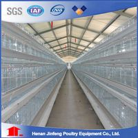 A Type Automatic Chicken Cage for Layer Chicken Farm thumbnail image