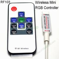 Wireless Mini RGB Controller For LED SMD Strip Light