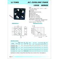 all metal cooling fan 120x120x38mm thumbnail image