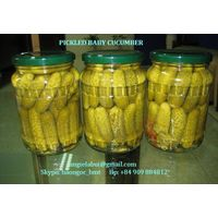 Canned Tomato Pasta, Canned pineapple, Pickled baby cucumber in glass jar (bottle or drum), pickle thumbnail image