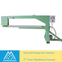 Wide Abrasive Belt Joint Continuous Roll Press Machine thumbnail image
