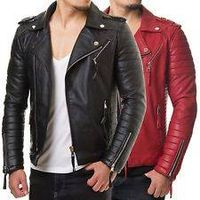 Leather Biker Jacket best price
