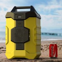 portable Camping cooler box with bluetooth speaker thumbnail image