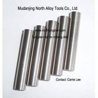 Tungsten rod for darts