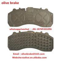 truck brake pad backing plate