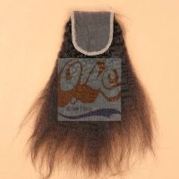 GrantSea Hot sale Natural Black 4x4 Lace Closures Three Middle Free Part 6-22 Inches GS thumbnail image