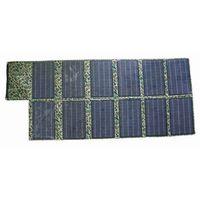 120W Portable Folding High Efficient Mono Solar Panel+Solar Power Charger+5V Mobile Phone/18V Laptop