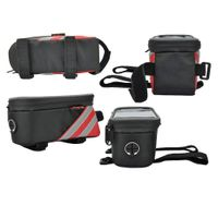 Bicycle Front Frame Tube Bag