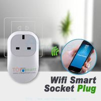 Wifi Smart phone APP remote control power socket plugs