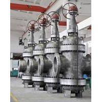 Expanding through conduit gate valve