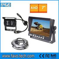 DC12V & 24V 960P HD 7'' AHD CCTV Camera System with Heavy Duty ir Camera