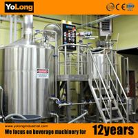 2015 Yolong Steam heating 500L craft beer brewery equipment/br thumbnail image