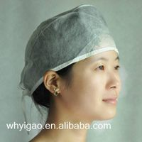 surgical cap with fixed tie thumbnail image
