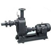 Sewage Pump Self-priming Without Jams