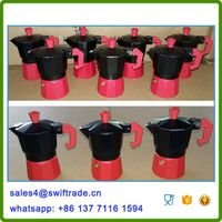 Italian Stovetop Aluminum Espresso Coffee Maker