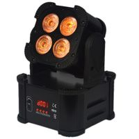 4X8 RGBW 4IN1 Battery Powered Wireless Light DMX LED Stage Light thumbnail image