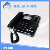 4 lines wifi sip ip phone