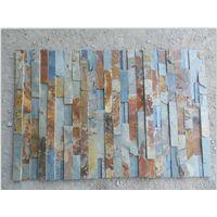 rusty natural slate ledgestone