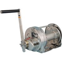 Stainless Steel Rotating Hand Winches (Electropolishing): Model ESB-10-SI (1,000kgf)