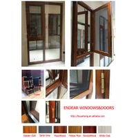135# thermal break aluminum casement windows