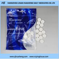 Nonwoven Disposable Compressed Tablet Napkin