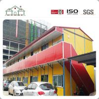 Sandwich Panel Camp Steel Frame Prefab House thumbnail image
