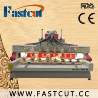 rotary CNC engraving machine cnc lathe for cylindrical objects