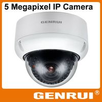 GENRUI 3 Megapixel WDR WiFi Waterproof Dome IP Camera with Wall-mount Bracket option thumbnail image