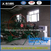 concrete drain pipe cage making machine