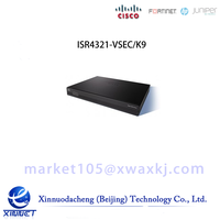 Cisco ISR 4321 Bundle w/UC & SEC License, CUBE-10 ISR4321-VSEC/K9