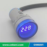 AC Digital Voltage meter Voltmeter 22mm