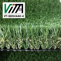 High Standard Quality Landscape Garden Decorative Artificial Grass Prices VT-QDSVA40-4