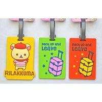 Pvc luggage hang tag thumbnail image