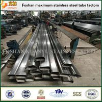 thin wall flact rectangular pipe with high quality