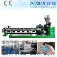 Single screw plastic extruder for recycling PE ABS