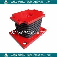 Truck Parts HOWO Rubber support AZ9725520278