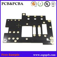 electronic rigid pcb 94v-0 1.6mm fr4 double-sided pcb circuit board manufacture in shenzhen