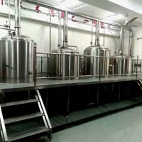 500L Brewing Equipment with platform thumbnail image