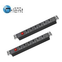 """Universal Type cabinet 19"""" rack PDU with on/off switch"""