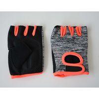 PVC Palm Sports Fingerless Gloves thumbnail image