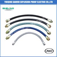 Explosion proof stailess steel 304 flexible conduit thumbnail image