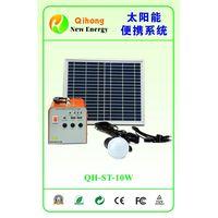 10w solar light kits solar lamp system