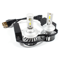IP68 High Power Super Bright Head 60W 12000 LM Headlig Bulbs COB Fan H11 9005 thumbnail image
