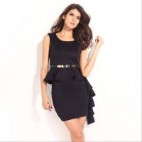 Sexy Office Formal Lady Dress Fashion Elegant Temperament Slim Banquet Party Dress