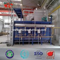 Low consumption natural gas car bottom furnace