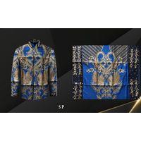 Handmade Prada Silk Batik Fabrics, Style 16