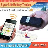 Long Battery Life GPS Tracker / 1 year 2 year 3 year battery life GPS Car Tracker
